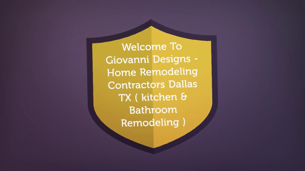 giovanni designs : home remodeling contractors in dallas, tx - youtube