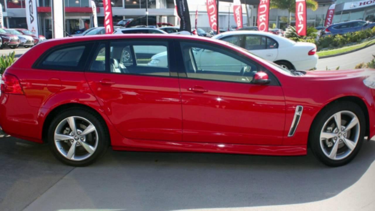 2015 Holden Commodore VF II MY16 SV6 Sportwagon Red Hot 6 Speed