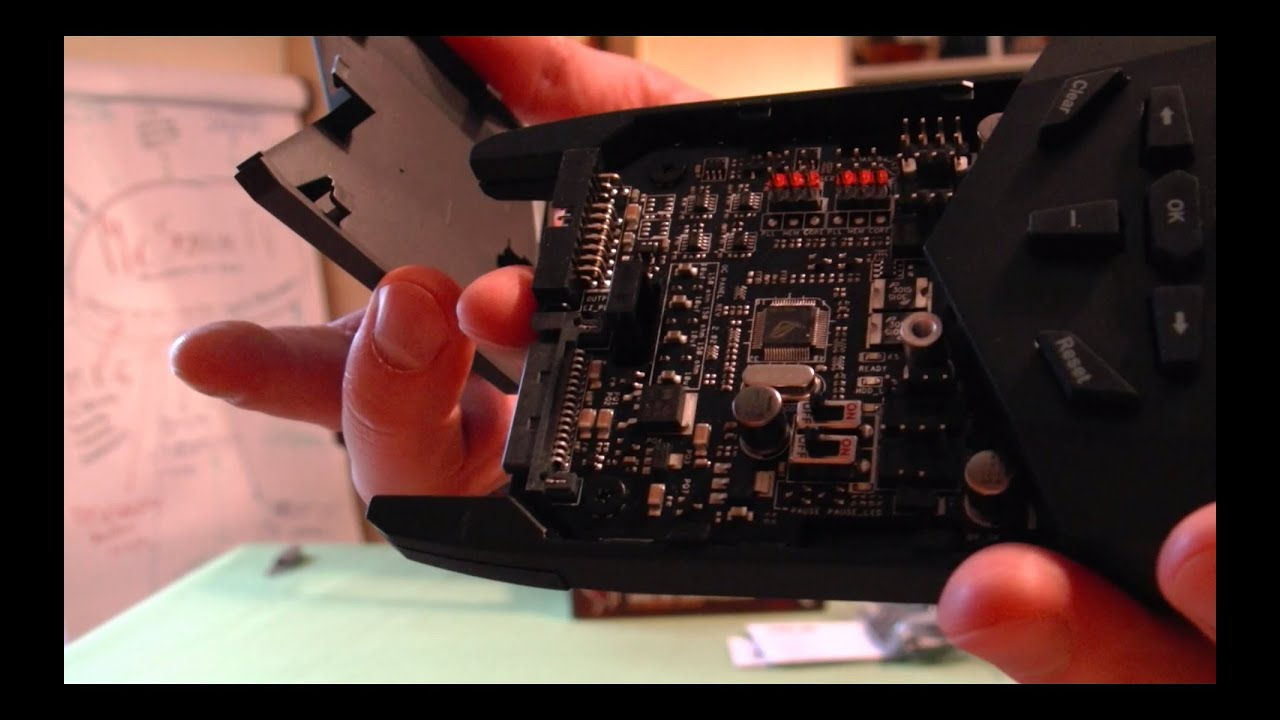 Quick Unboxing - ASUS OC PANEL ROG OC CONTROLLER (Szybka Rozpaka) | 12.2014 - McSzakalTV - YouTube