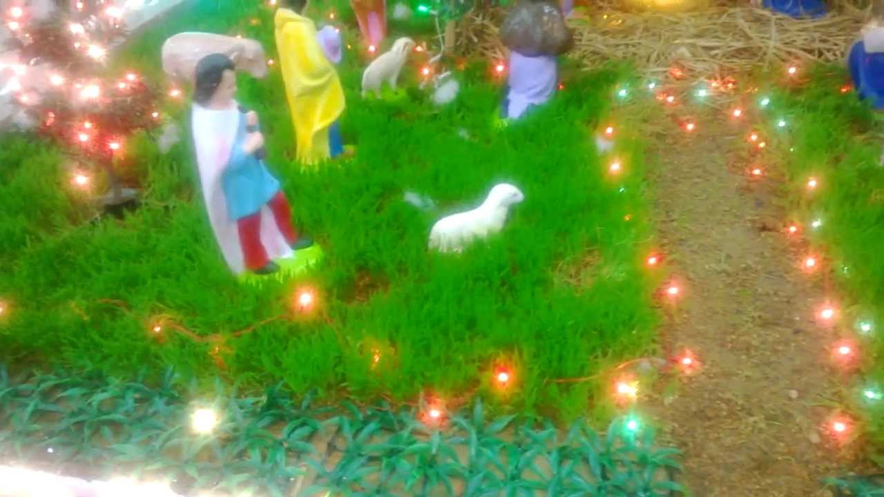 a small christmas crib in kerala india   youtube