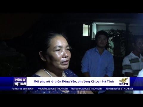 25/10/16 - PHÓNG SỰ VIỆT NAM: Nạn nhân của thảm họa Formosa cứu trợ cho nạn nhân lũ lụt miền Trung