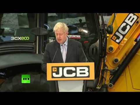 LIVE: Boris Johnson gives speech on #Brexit.
