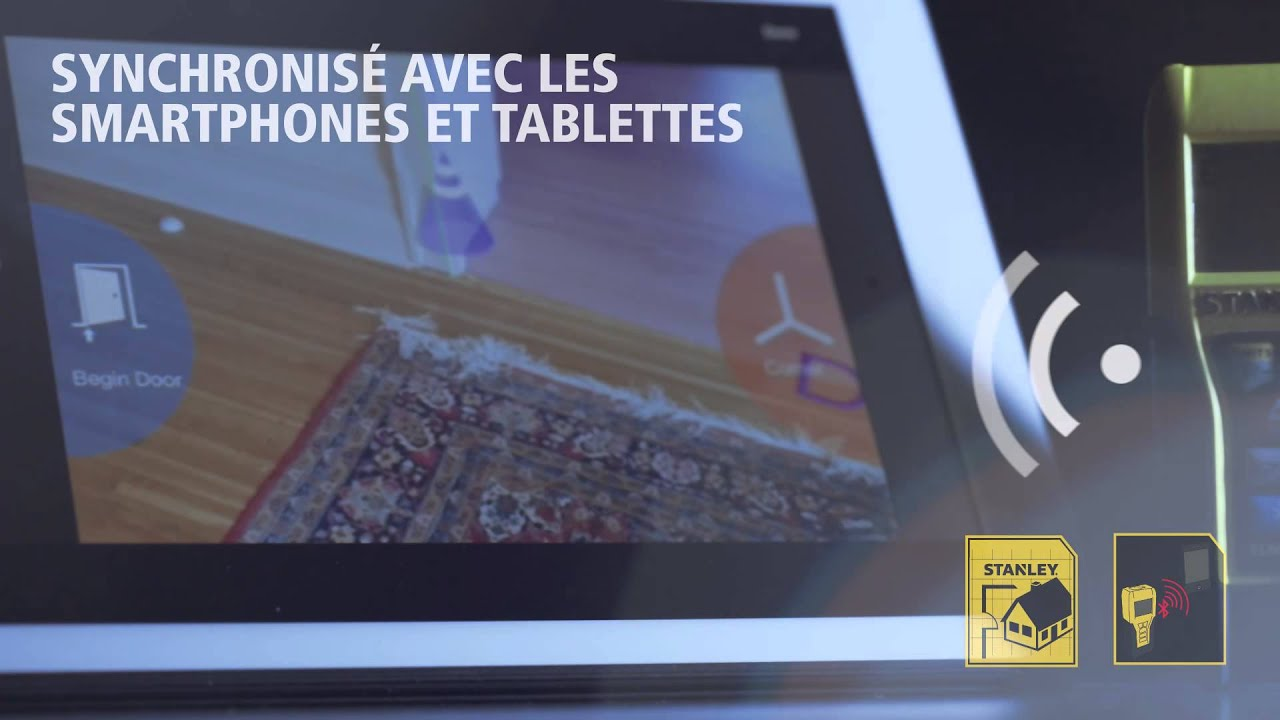 Stanley mÉsure laser tlm s m avec connection bluetooth youtube