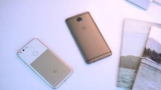 OnePlus 3T vs. Google Pixel