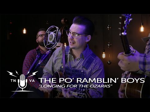 "Po' Ramblin' Boys - ""Longing For The Ozarks"" - Radio Bristol Sessions"