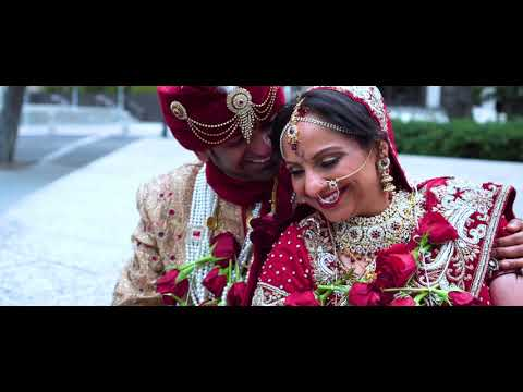 Monica + Rahul | Cinematic Indian Wedding Highligts San Jose Fairmont