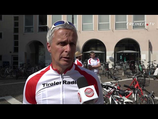 """420 Kilometer für Tirol"" - Die Tiroler Radtour 2017"