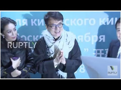 Russia: Jackie Chan opens Festival of Chinese Cinema in Moscow