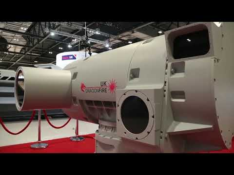 DragonFire Laser Directed Energy Weapon System