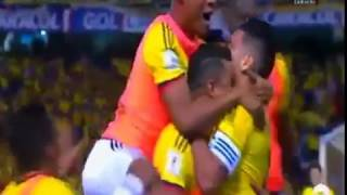 COLOMBIA 1 PARAGUAY 2 CARACOL RADIO  - ELIMINATORIAS 2017