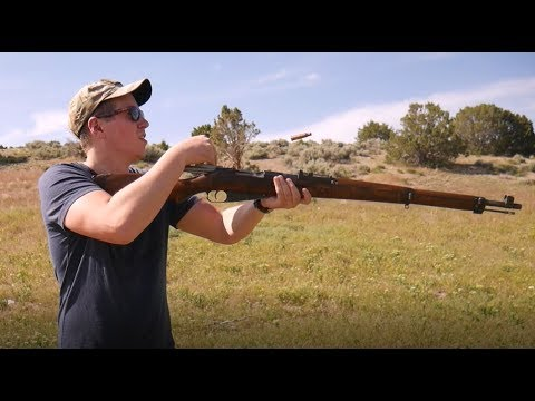 Shooting the Finnish M39 Mosin Nagant - First Impressions