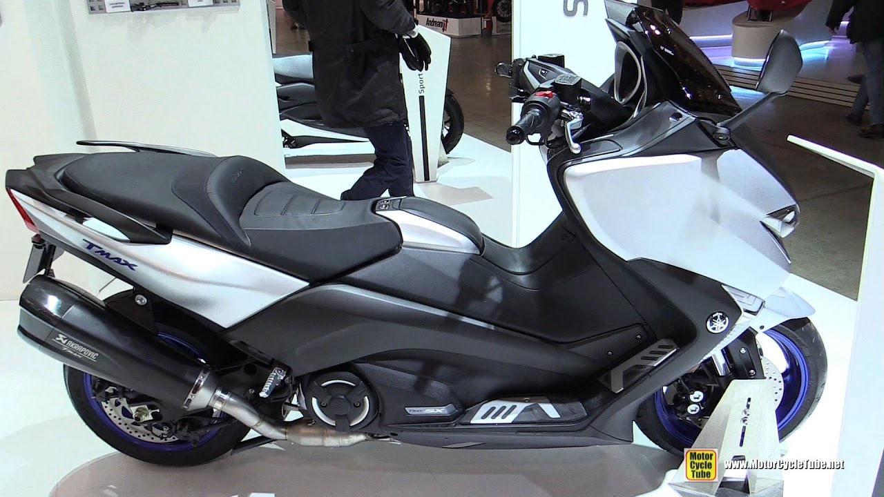 2017 yamaha tmax 530 sx walkaround debut at 2016 eicma. Black Bedroom Furniture Sets. Home Design Ideas