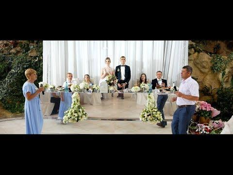 Батьки співають на весіллі сина. Юля та Іван 13.07.2017