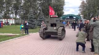 День танкиста - 2015 в Кубинке: Танк МС-1