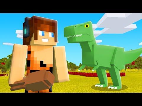 OS DINOSSAUROS VÃO VOLTAR !! - Minecraft Dinossauros #01