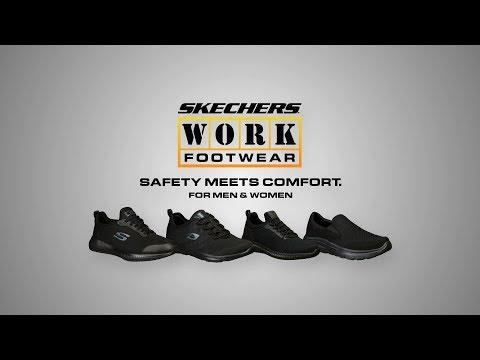 Skechers WORK:  Safety Meets Comfort commercial