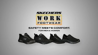 Skechers WORK:  Safety Meets Comfort commercial