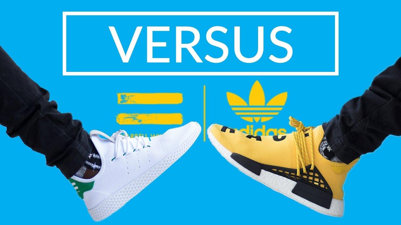 Adidas Tennis Vs Nmd Human Race Youtube