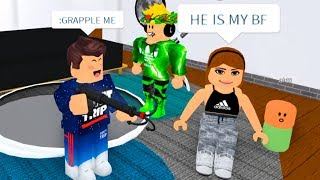 Admin Grapple Caught People Dating in Roblox...