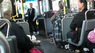 58.Общественный и спецтранспорт для инвалидов в Америке(Нью Йорк).Transport for disabled people, USA