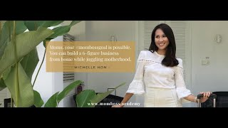 Interview with Michelle Hon, The Founder of MomBoss Academy, The Chill Mom Kitchen