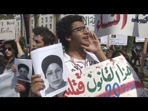 Women demand change to Moroccan rape law