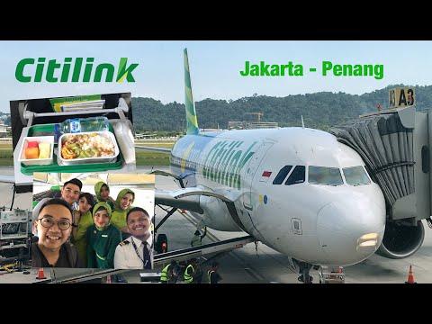 Pertama Kali Naik CITILINK Rute Internasional! | Jakarta - Penang | QG510