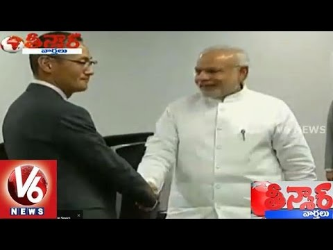 PM Narendra Modi starts 3 nation tour from Seychelles - Teenmaar News (10-03-2015)