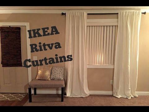 IKEA RITVA CURTAINS Review/Unpackaging