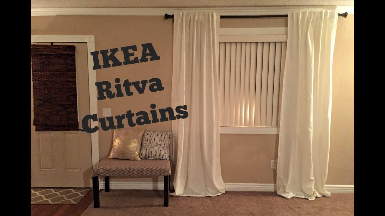 ikea ritva curtains reviewunpackaging - Ikea Curtains