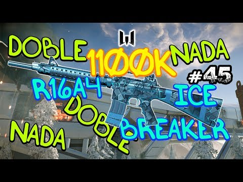 1100K en R16A4 ICE BREAKER - DOBLE o NADA - #45 - Warface - Gameplay Español thumbnail