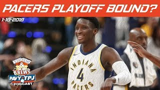 WIll Indiana Pacers Make Playoffs? | Hoops & Brews