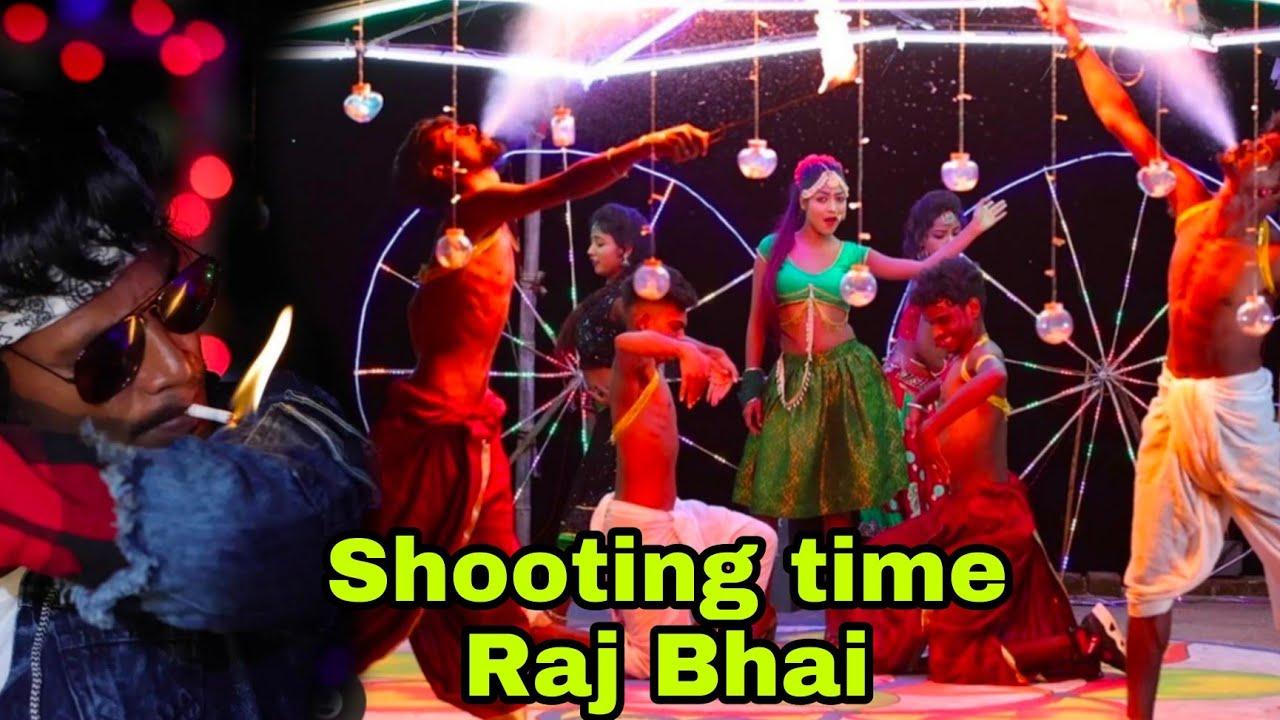Bindiya se India Song Shooting Time !! Raj Bhai