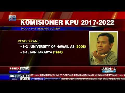 Daftar Nama 7 Komisioner KPU 2017-2022