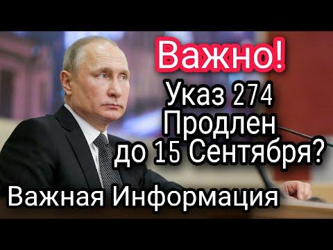 Продление Указа 274 15 Сентября и Отмена платы Патент на Границе России Миграционный Учет Мигрантов