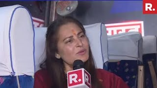 WATCH: Jaya Prada's Exclusive Interview With Republic Bharat On R. Bharat Ki Bus