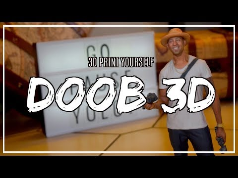 3D Print Yourself: Doob 3D!
