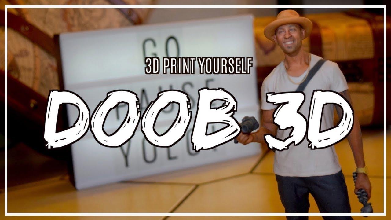 3D Print Yourself: Doob 3D - DTV Daniel Television