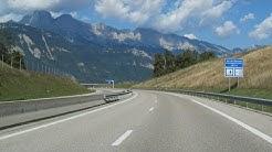 France: A51 Monestier - Grenoble (Alps)