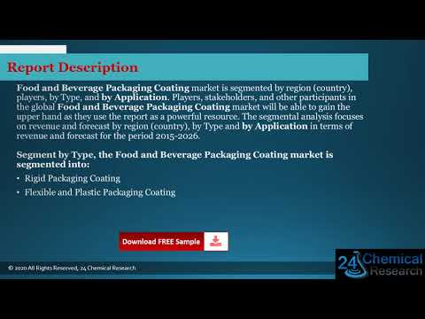 Global Food and Beverage Packaging Coating Market Insights, Forecast to 2026