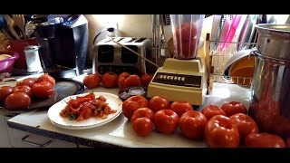 How To Make Fresh Tomato Sauce!