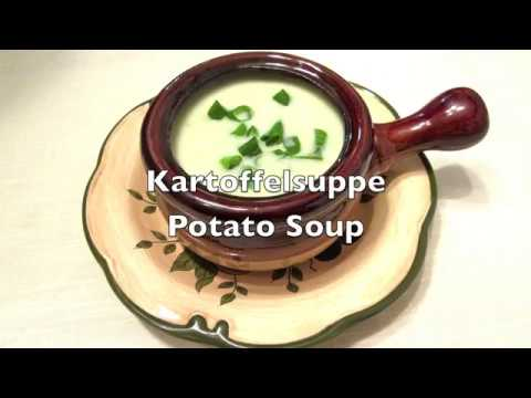 German Cuisine: Kartoffelsuppe (Potato Soup)