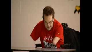 CBC News Ottawa - Josh Vender Vies Esteem Team Athlete & Paralympian
