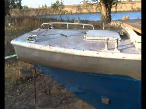 Модернизация лодки гулянка 4 запуск напоследок и шопот глушака .