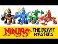 watch he video of Ninjago Beast Masters w/ Kai Lloyd Jay & Cole Unofficial LEGO Knockoff Set