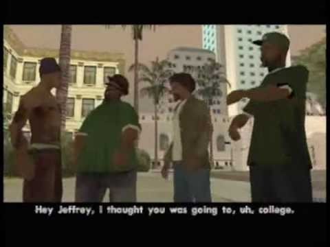 gta san andreas soundtrack coleccion-la raza - YouTube