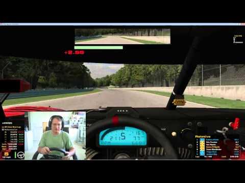 Iracing Grand Am Race at Road America Race 2 Season 3 2013