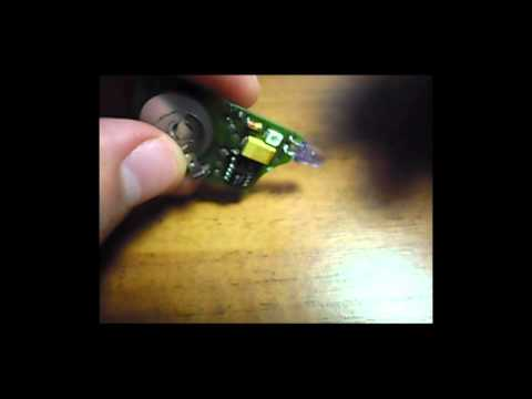 Ключ Мерседес W124 ИК пульт