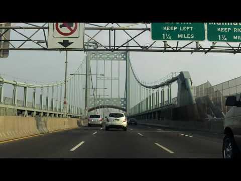 Robert F. Kennedy (Triborough) Bridge north/eastbound (Queens to Bronx)