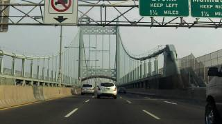 Robert F. Kennedy (Triborough) Bridge north/eastbound (Queens to Bronx)